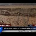Cañete: nuevo huaico cae en el distrito de Quilmaná