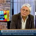 Castro: La fiscalía no quiere dar información a la comisión Lava Jato