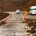 Moquegua: tránsito en la Panamericana Sur fue restringido a causa de las lluvias