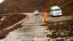 Moquegua: tránsito en la Panamericana Sur fue restringido a causa de las lluvias - Noticias de fernando zavala