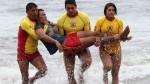 Policías salvavidas han logrado rescatar a 621 personas de morir ahogadas - Noticias de muere ahogado