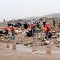 Callao: recogen más de 4 toneladas de basura de playa Márquez