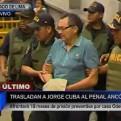 Ex viceministro Jorge Cuba fue trasladado al penal Ancón I