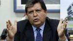 """Alan García: """"Participaré en las investigaciones, nada tengo que ocultar"""" - Noticias de edwin luyo"""