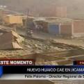 San Juan de Lurigancho: confirman nuevo huaico en Jicamarca