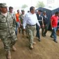 Huaicos: ministro de Defensa insta a que sector privado apoye con motobombas