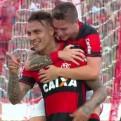 Guerrero marcó doblete en goleada de Flamengo sobre Nova Iguaçu