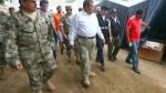Huaicos: ministro de Defensa insta a que sector privado apoye con motobombas - Noticias de cajamarquilla