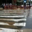 Miraflores: rotura de tubería generó aniego en la avenida Pardo