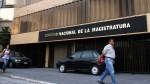 Caso Odebrecht: CNM respalda actuación de jueces y fiscales - Noticias de cnm