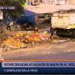 El Agustino: basura se acumula en la avenida Nicolás Ayllón