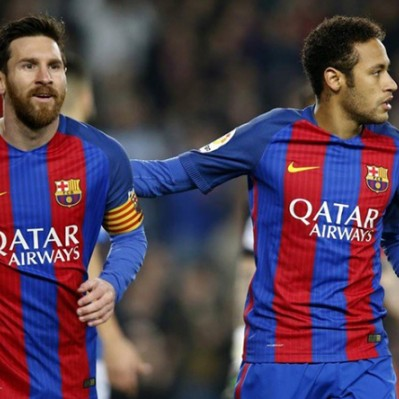 Barcelona venció 2-1 al Leganés sobre el final por la Liga española