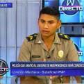 Independencia: policía que abatió a tirador recibe amenazas