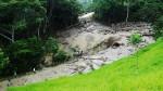 San Martín: descolmatan quebradas de Mariscal Cáceres para evitar inundaciones - Noticias de martin caceres