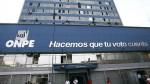 ONPE: elección de su nuevo jefe se llevará a cabo el 27 de febrero - Noticias de onpe