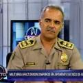 PNP: Agentes arriesgaron su vida por no usar su arma contra militar intervenido