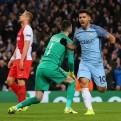 Manchester City venció 5-3 al Mónaco en la ida de octavos de Champions