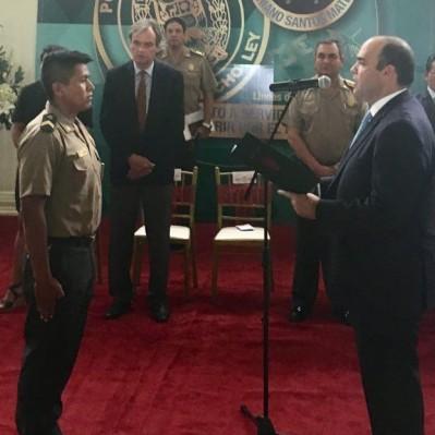 Policía que abatió a Romero Naupay fue condecorado por el Mininter