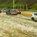 Costa Verde: aniego por rotura de tubería causó caos vehicular en Miraflores