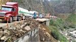 Carretera Central se encuentra bloqueada en el kilómetro 86 - Noticias de yauyos