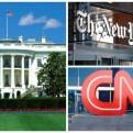 EE.UU.: impiden el ingreso de CNN y el NY Times a sesión en la Casa Blanca