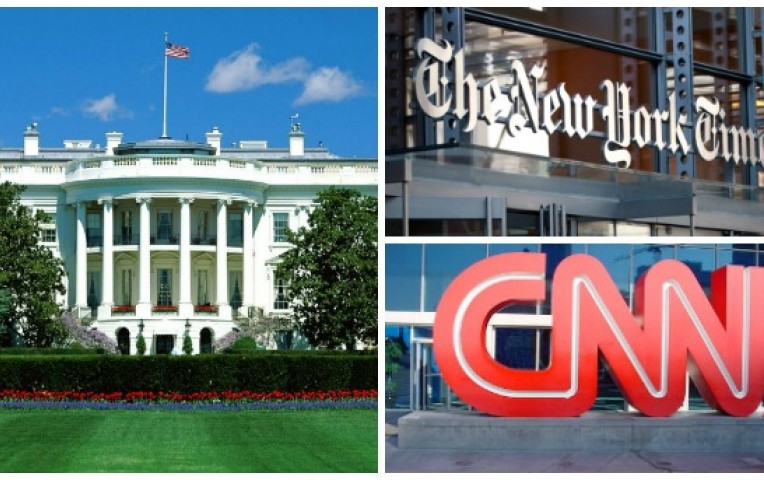 EE.UU.: impiden el ingreso de CNN y el NY Times a sesión en la Casa Blanca | Actualidad