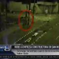 San Borja: cámaras registraron robo en empresa cerca a Javier Prado