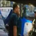 Denuncian que policía dejó ir a conductor que chocó un vehículo
