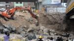 Puente Dueñas: continúan labores de enrocado en ribera del río Rímac - Noticias de smp
