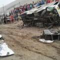 Panamericana Sur: suspenden a empresa de transporte implicada en accidente