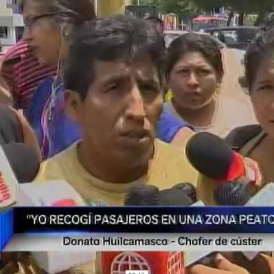 Panamericana Sur: chofer de cúster accidentada dejó hospital sin la Policía