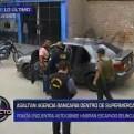El Agustino: asaltan agencia bancaria dentro de supermercado