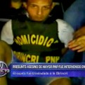 Crimen de policía: imágenes exclusivas de la detención del principal sospechoso