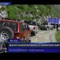Chosica: nuevo huaico bloquea la Carretera Central y afecta a pobladores