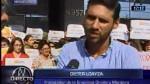 Graña y Montero: trabajadores se movilizaron en respaldo a la organización - Noticias de mario alvarado pflucker