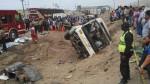 Accidente en la Panamericana Sur: revisa la lista completa de los 22 heridos - Noticias de