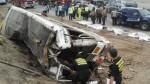 Panamericana Sur: suspenden a empresa de transporte implicada en accidente - Noticias de