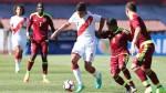 Perú cayó 3-2 ante Venezuela y quedó fuera del Sudamericano Sub 17 - Noticias de luna