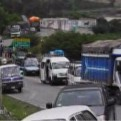 Huaico arrasó varios kilómetros de la carretera Cañete-Yauyos-Huancayo y bloqueó la vía