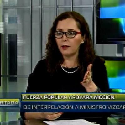 Bartra: En reunión hemos votado por interpelación al ministro Vizcarra