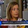 Mercedes Aráoz: Menos TV para Katherine Ampuero y que trabaje más investigando