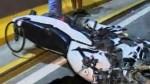 SMP: policía de tránsito a bordo de su moto fallece tras impactar contra un taxi - Noticias de smp
