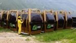 Kuélap: cerca de dos mil personas ya hicieron uso del nuevo teleférico - Noticias de bus