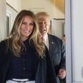 Melania Trump es más popular en Estados Unidos que esposo Donald