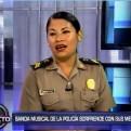 'Qué bonito': la agente PNP que se volvió viral cantó en nuestro set