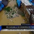 Tumbes: desborde del río Zarumilla afectó a comerciantes