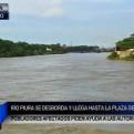Piura: posible desborde del río mantiene en alerta a la población