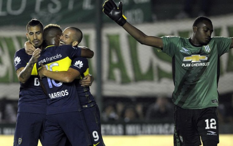 Boca Juniors ganó 2-0 a Banfield y conserva el liderato en Argentina | Deportes