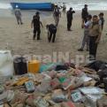 Punta Hermosa: hallan lancha con 100 paquetes de droga varada en playa Blanca