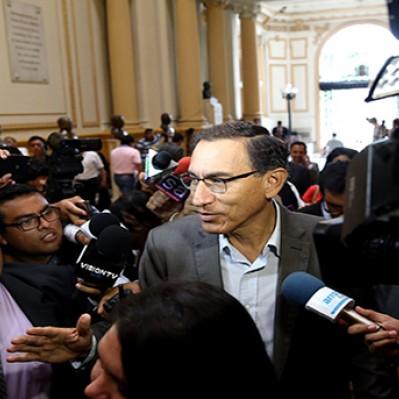 Vizcarra espera con optimismo y confianza interpelación en el Parlamento